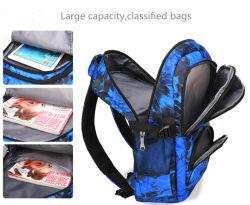 Fashion Senior Students' School Backpack Large Capacity Canvas Sports Bag