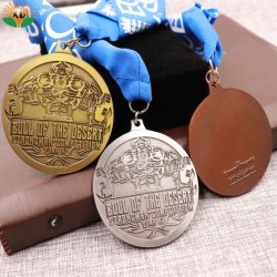 Hot Selling Custom Casting Custom Sports 3D Medals with Ribbon