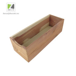 Cedarwood Shoe Tie Box / Wooden Storage Box For Home Wear Collection
