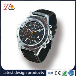 Top Grade PU Leather Strap Men Wrist Watch Sport Watch