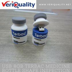 USB 8GB Terbac Medicine Bottle Shape Quality Control Inspection Service in Shenzhen