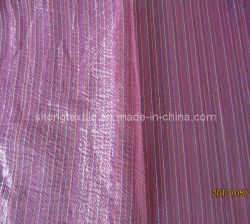Six Colour Thin Stripe Orgnza for Garment