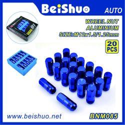 20PCS Blue Color Aluminium Lug Nut Set for Wholesale