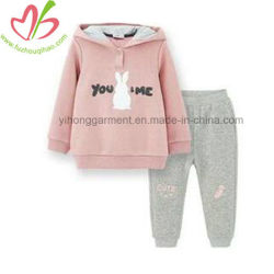 Winter Sports Wear Kids Hooded Clothes Set