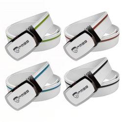 6f16d542eec08f Men Automatic Buckle Genuine Leather Belt Wholesale Custom Designer Ratchet  Luxury Brand Carbon Fiber Golf Belt