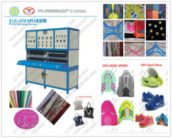 Kpu PU Rpu Sport Shoes Bag Upper Hot Press Laminating Machine