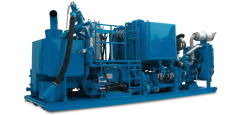 Serva Auto Density Control Single Pump Cementing Skid Made in China