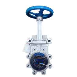 Metal Seat Seal Slurry Knife Gate Valve