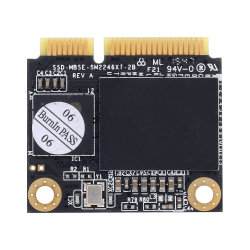 Kingspec SSD Msata Half Size Hard Drive 128 GB Solid State Drive Disk Hard Disk for Laptop Desktop Computer Motherboard