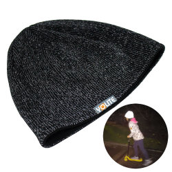Free Sample Reflective Beanies Safety Hat for Sport Factory