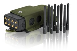8 Bands Portable Handheld All in One Worldwide Signal Cell Phone Jammer with Nylon Case