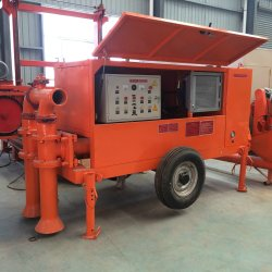 Light Weight Foam Concrete Delivering Pump