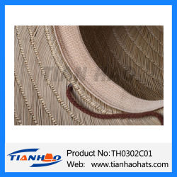Wholesale Sombrero Mat Grass Nutural Straw Hat