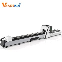 Automatic 1kw 2kw 3kw Pipe Cutting Tuber Laser Cutter Machine