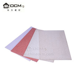 Construction Building Material Fireproof MGO Board for Interior Decoration