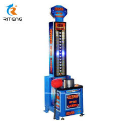 Coin Operated King of Hammer Boxing Game Machine for Club