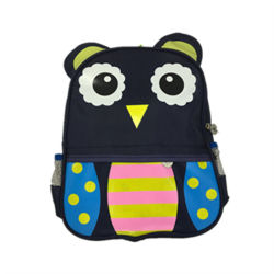 68a5cfaf9af1 New Design Backpack Cute Owl Cartoon Children School Bag