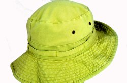 Finest Quality Washed Cotton Fisherman Sun Hat Bucket Cap with Adjustable Chinstrap