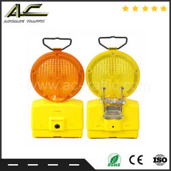 High Quality Marking Solar portable Barricade Light with Metal Bracket