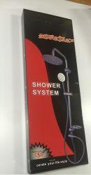 High Sliding Bar Shower Set