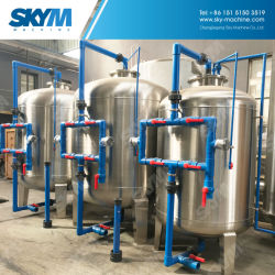 Silica Sand Filter for Water Treatment Line with Backwash