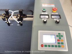Sportswear Laser Cutting Machine with Double Head 1410