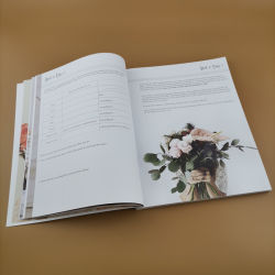High-End Book Printing Service Textbook Printing Softcover