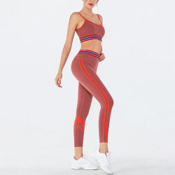 2020 Wholesale Custom Brand Womens Yoga Sport Set Workout Leggings Sportswear for Gym