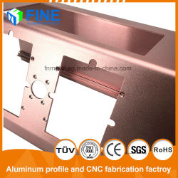 Steel Sandblasting Anodized Aluminium Section for Industry Product by Customized