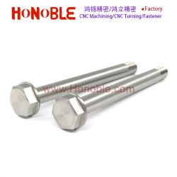 Stainless Steel CNC Turning Long Bolt of Motorcycle Part
