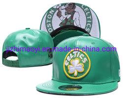 Wholesale Leather Boston Celtics Caps Custom Sport Snapback Cap Hat