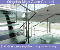 Ordinaire Tempered Safety Anti Slip Laminated Glass Stair Treads