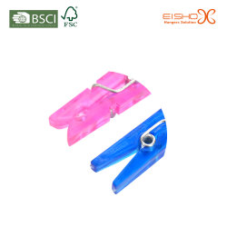 Wholesale Colorful Plastic Clothes Photo Paper Clips