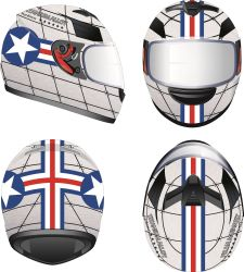 New Style Helmets for Motorbike Cascos Motorcycles