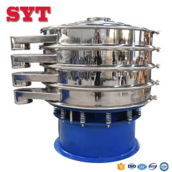 Ceramic Slurry High Frequency Vibrating Screen Sieve/Vibro Powder Sieving Machine