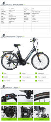 2016 Hot Sale Electric Urban Bike