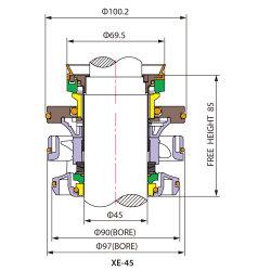Mechanical Seal Xe for Flygt Pump