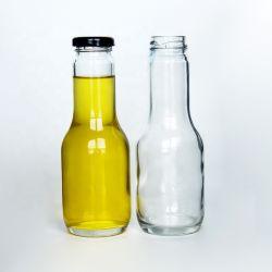 Screw Cap Clear Glass Bottle Vodka/Whisky/Tequila/ Empty Liquor Pet Bottle Beverage Bottle