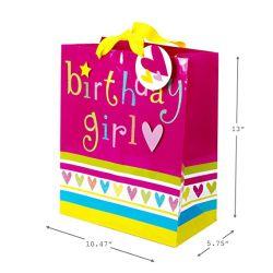 Signature Large Birthday Gift Bag Paper Tote Bag