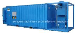Container type sand blasting machine