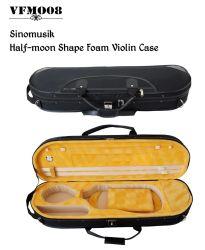 Green Interior Oblong Foam Hard Violin Case