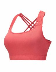 Women's Outdoor Racerback Sports Bras - High Impact Workout Gym Activewear Bra