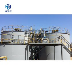 Slurry Mixer Cyanide Leaching Agitation Tank of Gold CIL Plant
