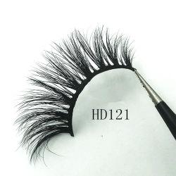 Wholesale 2020 Fashion Synthetic 3D Mink Lashes Extension False Eyelashes with Customized Diamond Box