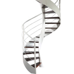 Outdoor Metal Steel Stainless Steel Spiral Stairs Design