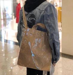 TPU PVC Kraft Brown Paper Handbag Shoulder Bags