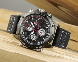 Wrist Watch Digital Watch Men Watch Sport Watch Leather Watch for Wholesale