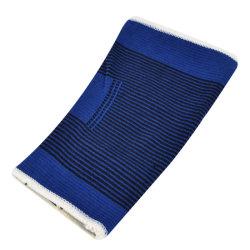 Outdoor Sport Blue Elastic Knee Support, Pullover Leg Sleeve Knee Support