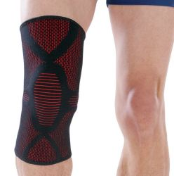 Jacquard Woven Colorful Sport Knee Support/Sport Knee Support for Sports Joint Health