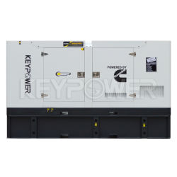145kw Soundproof Electric Cummins Power Silent Diesel Generator with Cummins Engine